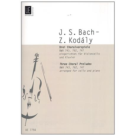 Bach, J.S.: Drei Choralvorspiele