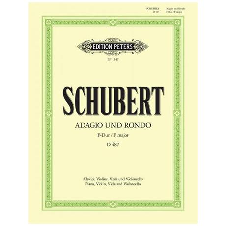 Schubert, F.: Adagio und Rondo für Klavierquartett D487 F-Dur