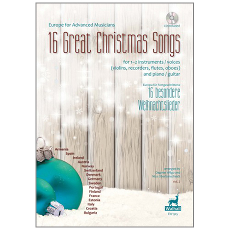Europa für Fortgeschrittene: 16 besondere Weihnachtslieder Bd.2