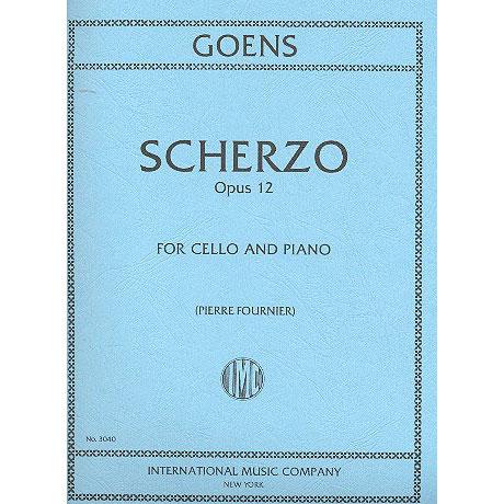 Goens, D.v.: Scherzo op. 12