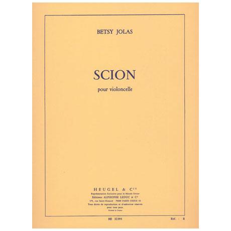 Jolas, B.: Scion