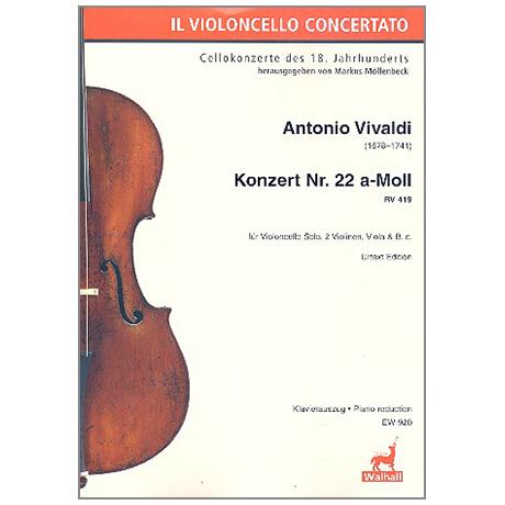 Vivaldi: Konzert a-Moll Nr.22 RV419