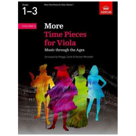 More Time Pieces for Viola Music Through the Ages Band 1