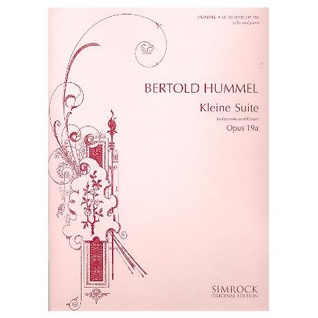 Hummel, B.: Kleine Suite Op. 19a