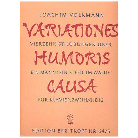 Volkmann, J.: Variationes humoris causa