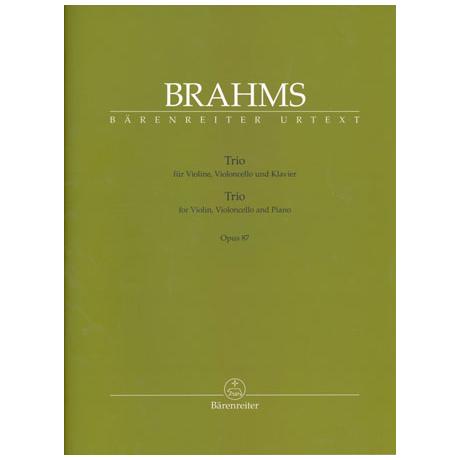Brahms: Trio Op.87