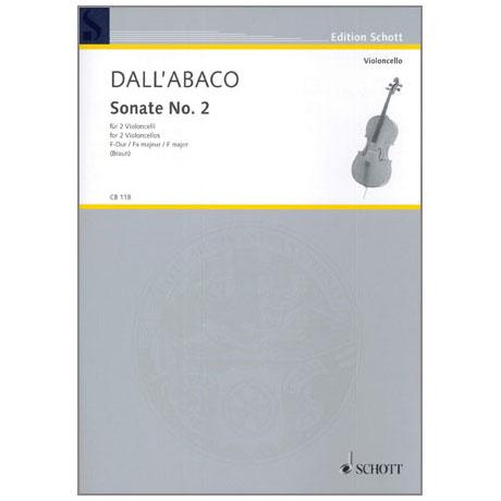 Dall'Abaco, J.C.F.: Sonate Nr. 2 F-Dur