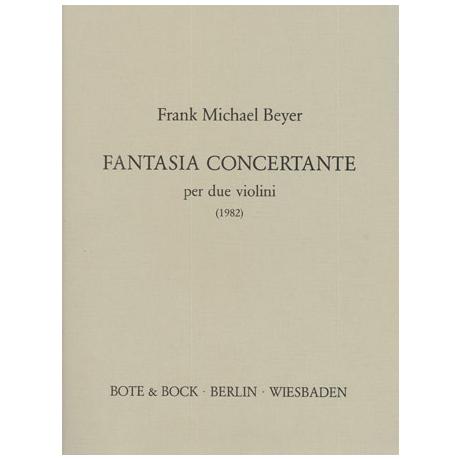 Beyer, F.M.: Fantasia concertante