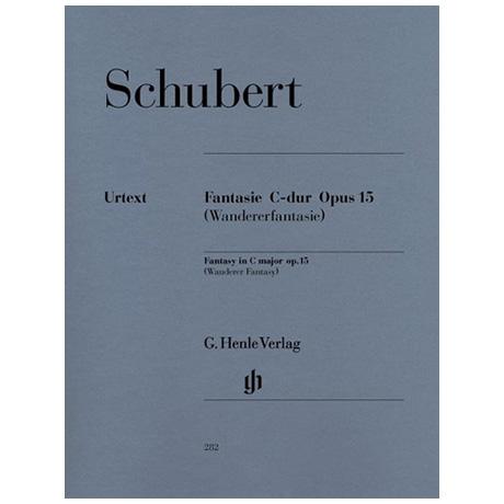 Schubert, F.: Fantasie C-Dur Op. 15 D 760 (Wandererfantasie)