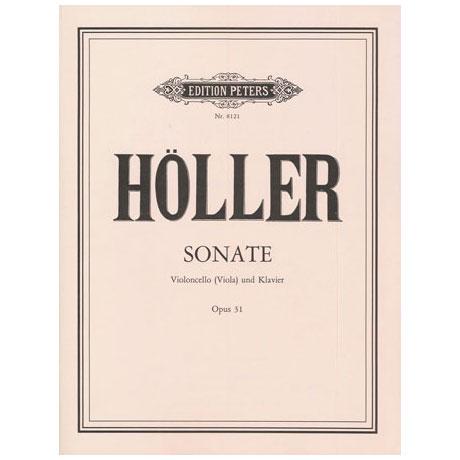 Höller, K.: Sonate Op.31