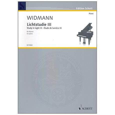 Widmann, J.: Lichtstudie III