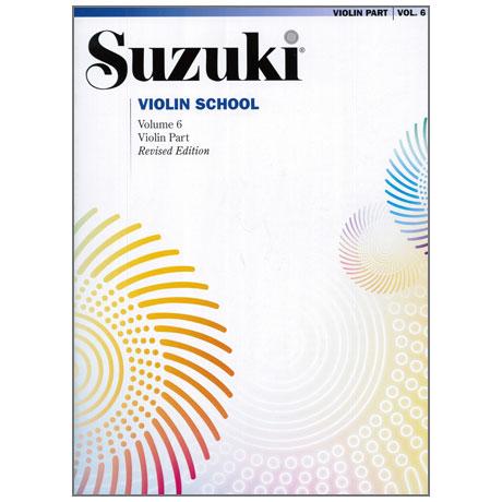 Suzuki Violin School Vol. 6