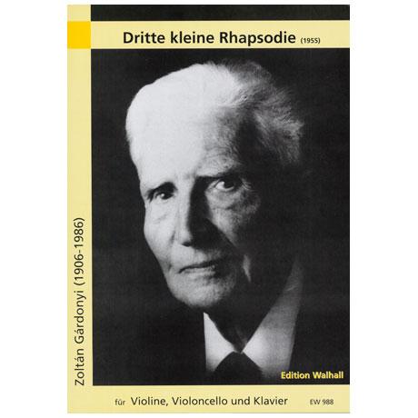 Gárdonyi, Z.: Dritte kleine Rhapsodie (1955)