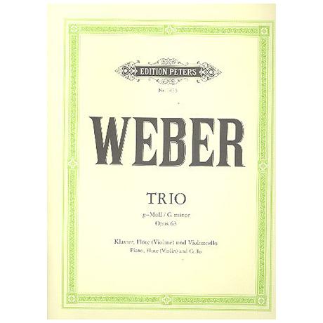Weber, C.M.v.: Trio g-moll, op. 63