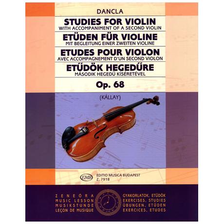 Dancla: Etüden für Violine op. 68