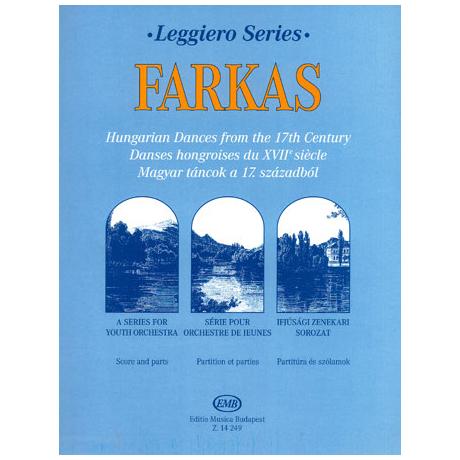 Leggiero - Farkas: Ungarische Tänze des 17. Jahrhunderts