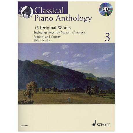 Classical Piano Anthology Band 3 (+CD)