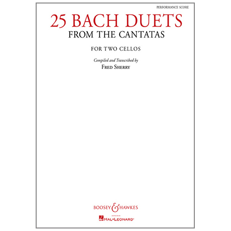 Bach, J. S.: 25 Bach Duets from the Cantatas (Sherry)
