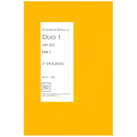 Dancla, C.: Duo Op. 33 Nr. 1