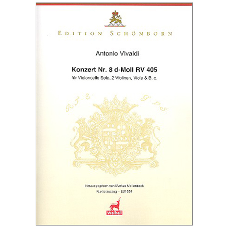 Vivaldi, A.: Violoncellokonzert Nr. 8 d-Moll RV 405