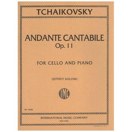 Tschaikowski, P.I.: Andante Cantabile