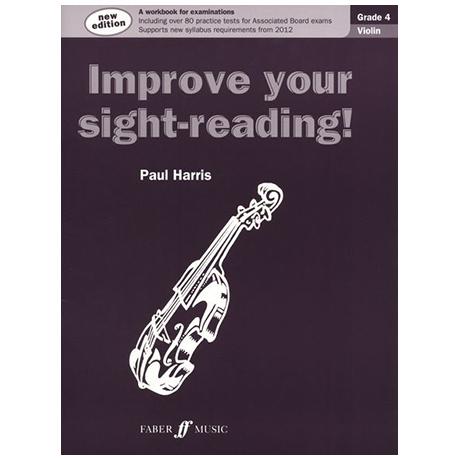 Harris: Improve your sight reading Grade 4