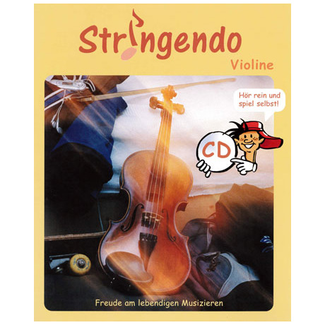 Stringendo Violine (+CD)