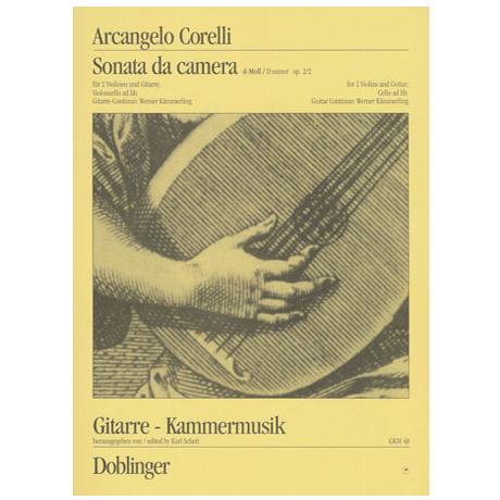 Corelli, A.: Sonata da camera a tre d-Moll Op.2/2
