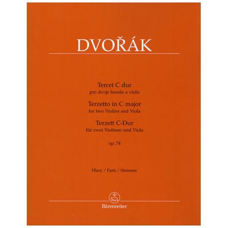 Dvořák, A.: Terzett Op.74 C-Dur