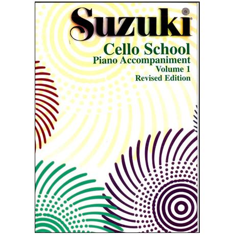 Suzuki Cello School Vol. 1 – Klavierbegleitung