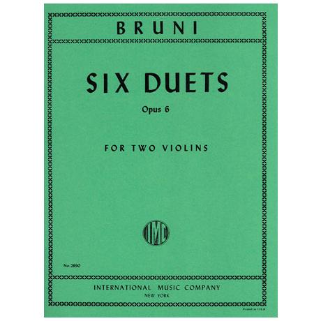 Bruni, A.B.: 6 Duette op. 6