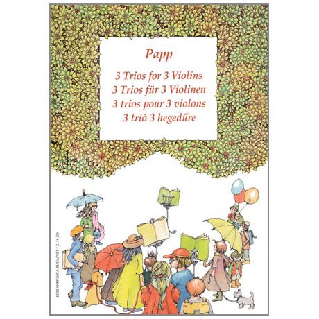 Papp: 3 Trios