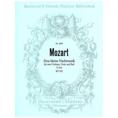Mozart, W.A.: Serenade G-Dur Eine kleine Nachtmusik KV 525, Partitur