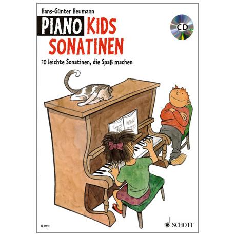 Heumann, H.-G.: Piano Kids Sonatinen (+CD)