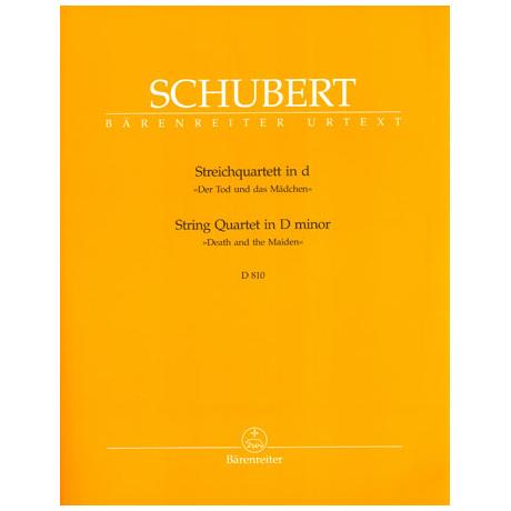 Schubert, F.: Streichquartett d-moll D810