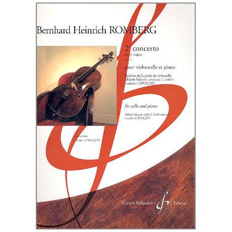 Romberg: Concert en ré majeur no.2 op.3