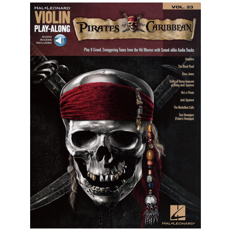 Pirates Of The Caribbean (+ Online Audio)