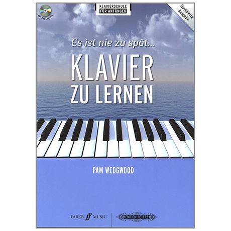 Wedgwood, P.: Es ist nie zu spät Klavier zu lernen (+CD)