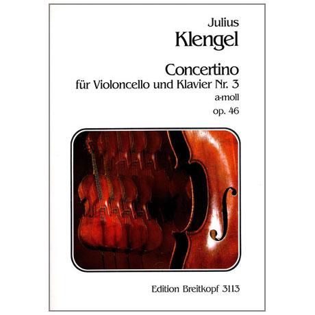 Klengel, J.: Concertino Nr. 3 a-moll, op. 46