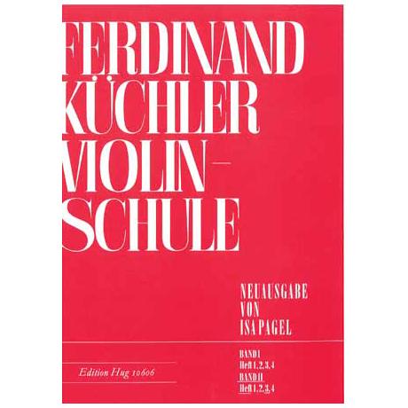 Küchler, F.: Violinschule Band 2 Teil 3