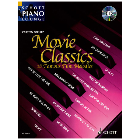 Schott Piano Lounge - Movie Classics (+CD)