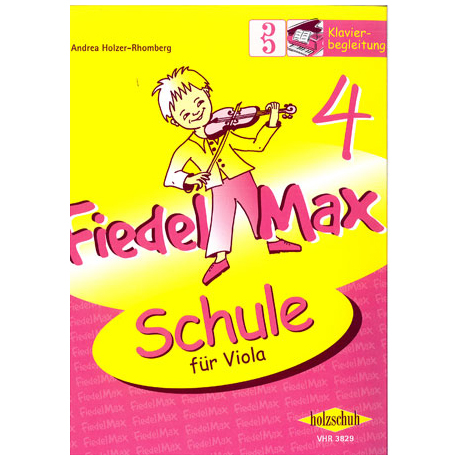 Holzer-Rhomberg: Fiedel - Max für Viola - Schule Band 4