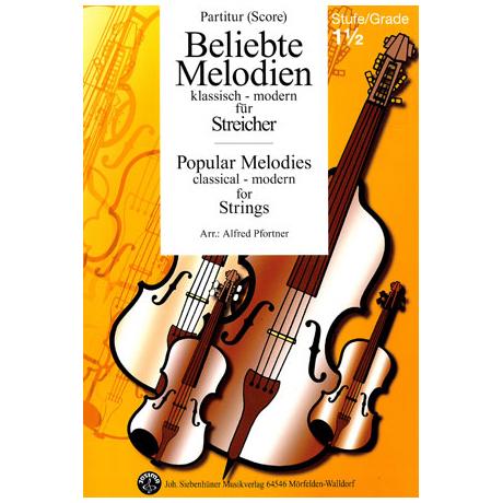Beliebte Melodien: klassisch bis modern Band 2 – Partitur