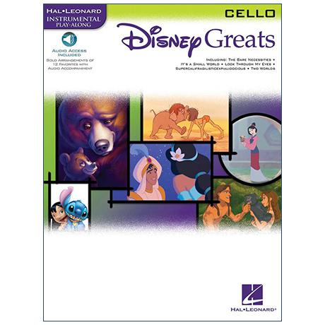 Disney Greats – Cello (+Online Audio)
