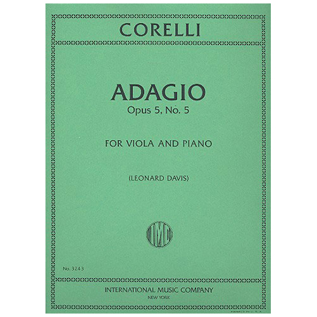 Corelli, A.: Adagio op. 5 Nr. 5