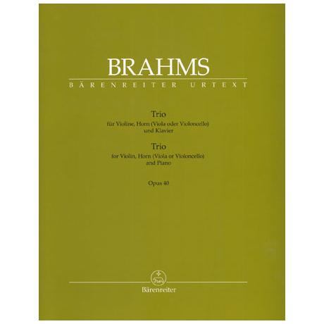 Brahms: Trio Op.40