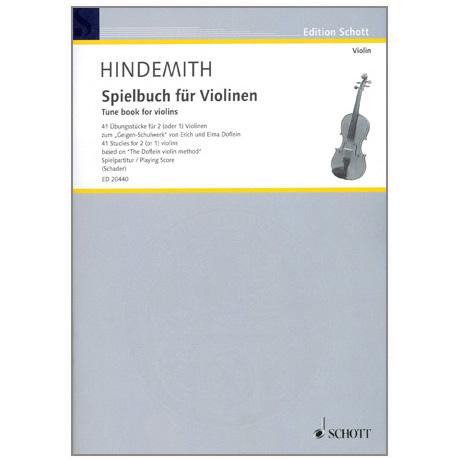 Hindemith, P.: Spielbuch für Violinen