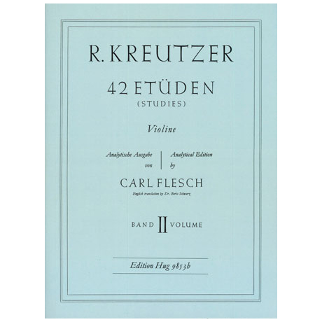Kreutzer, R.: 42 Etüden Band 2