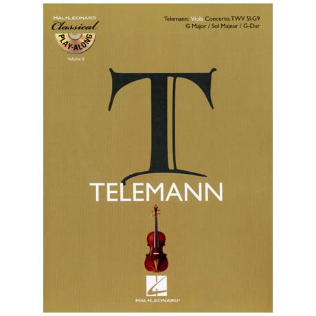 Telemann, G.Ph.: Violakonzert G-Dur TWV51:G9 (+CD)