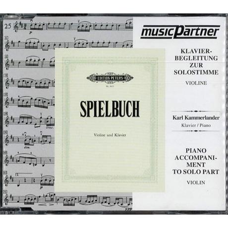 Spielbuch für Violine und Klavier, Compact Disc